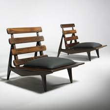 sergio rodrigues lounge chairs c 1954