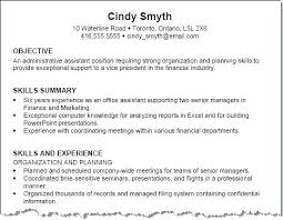 Example Skills For Resume Classy Basic Computer Skills Resume Sample For A Job Examples Free Example