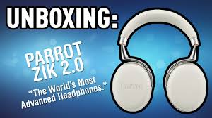 Unboxing the <b>Parrot Zik 2.0</b> Headphones - YouTube