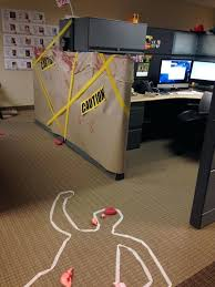 halloween decorations office. Halloween Office Decorations Cube Decorating Contest In The Happy Crime Scene Party . L