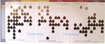 Wella Online Colour Chart Wella Red Hair Colour Chart Tattoo And Tattoo