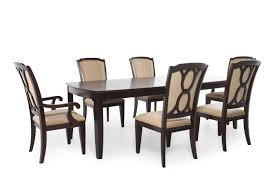 Seven Piece Traditional Rectangle Extension 96 to 120 Dining
