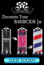 Barbicide Jar Decorative BARBERSalonSkins Are An Entirely NEW Concept In Salon Decor 39