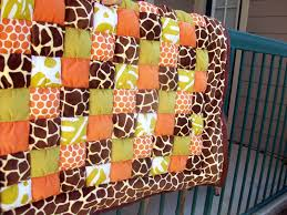18 Best Photos Of Baby Quilt Patterns Boy Jelly Roll Quilts Free ... & So Im In Texas Now Jungle Themed Baby Puff Quilt I Chose To Use Just The ... Adamdwight.com