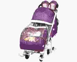 <b>Санки</b>-<b>коляска Ника Disney</b> Baby 2 купить в Нижнем Новгороде ...