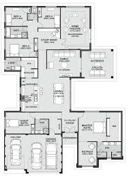 Master Bedroom Suite Layout Floor Plan Friday 5 Bedroom Entertainer Floor Plans Pinterest