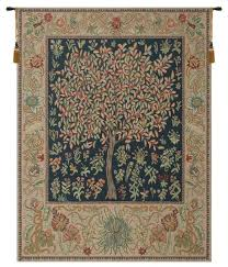 pastel tree of life tapestry wall art