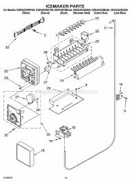 kitchenaid ksra25cnss00 parts list and diagram ereplacementparts com