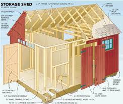 12x16 storage shed plans save money while building the shed that you
