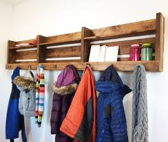 White Coat Rack Wall Mounted 100 Insanely Creative Ways To Store Hats Gloves Scarves Sweaters 97