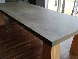concrete table tops home design ideas with 8 kmworldblog in concrete kitchen table for residence