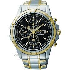 men s seiko alarm chronograph solar powered watch ssc142p1 mens seiko alarm chronograph solar powered watch ssc142p1