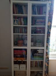 billy bookcase glass doors only