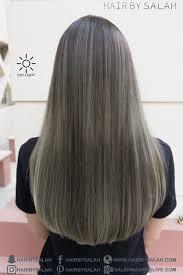 Dying Black Hair To Light Ash Brown Ash Brown Hair Color Ash Blonde Balayage Hair By Salah