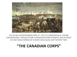 vimy ridge th an annual commemoration project by ppt 4 at