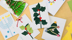 handmade christmas card ideas martha stewart