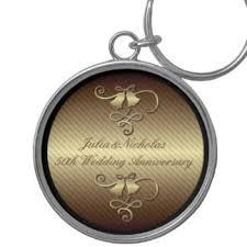 50th wedding anniversary keychains zazzle Wedding Anniversary Keychain 50th wedding anniversary gold key chain 25th wedding anniversary keychain