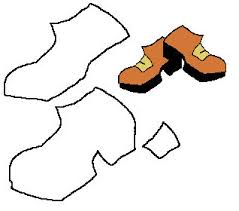 template of a leprechaun leprechaun shoes