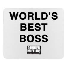 the office ornaments. the office world\u0027s best boss mouse pad ornaments u