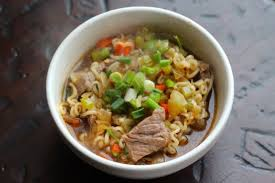 y beef and ramen noodle soup recipe