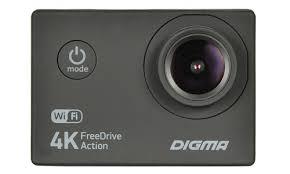 <b>Видеорегистратор Digma FreeDrive Action</b> 4K WiFi 8Mpix ...
