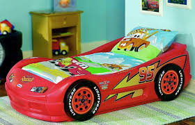 image of cars 3 toddler bed set
