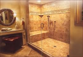 configuration where is the shower or tub located in the bathroom are the walls made of sheetrock or tile where are the supporting studs