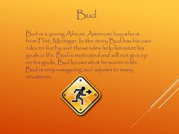 book report about bud not buddy