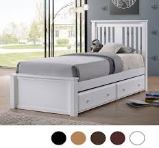 Gary Mission Wood Twin Platform Bed