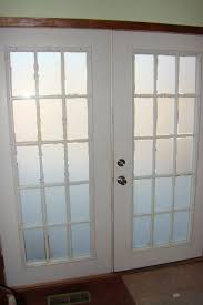 double frosted glass interior doors