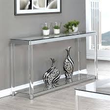 clear console table puro glass hygena matrix bent