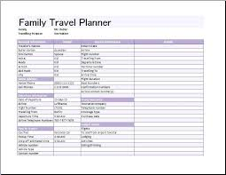 Business Trip Agenda Template Travel Plan Template Excel Format Business Planner Yakult Co