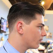 mens faded haircuts