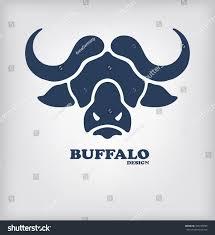 Logo Design Buffalo Ny Buffalo Head Logo Design Stylized Bull Stock Vector Royalty
