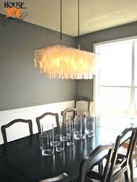 capiz rectangular chandelier medium image for awesome shell chandelier rectangular shell chandelier rectangular