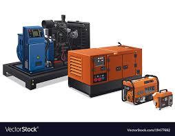Image Siemens Industrial Power Generators Vector Image Vectorstock Industrial Power Generators Royalty Free Vector Image