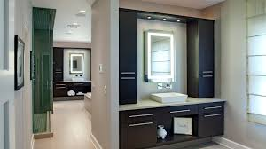 His And Hers Contemporary Master Bathroom Drury Design - Contemporary master bathrooms