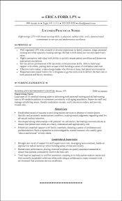 Lvn Resumes Lvn Sample Resumes Cityesporaco 17