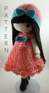 Amigurumi Doll Patterns New Clara Luz 48 Anastasia 48 Amigurumi Doll Crochet Pattern PDF