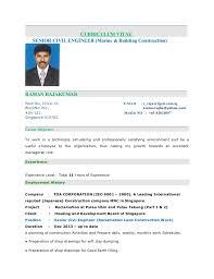 Building Engineer Resume Magnificent Raja Kumar Resume Senior Civil Engineer