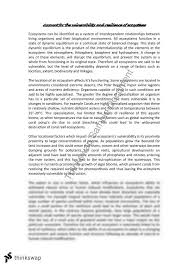 vulnerability and resilience essay year hsc geography  vulnerability and resilience essay