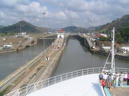 canal cruise aruba canal passing through the locks west of gatun lake