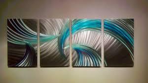 abstract metal wall art modern decor sculpture tempest blue green on blue abstract metal wall art with abstract metal wall art modern decor sculpture tempest blue green