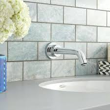 wall mounted tub faucet wall mounted bathroom faucet less handle moen wall mount tub faucet with hand shower