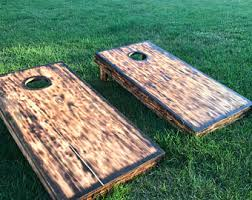 Wooden Corn Hole Game Corn hole boards Etsy 80