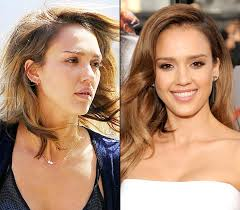 jessica alba is flawless with and flawless without