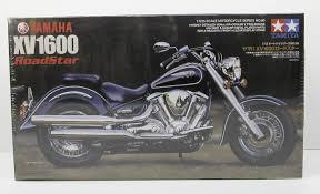 Motorcycle Display Stand Yamaha XV10000 RoadStar Tamiya 10000 1001002 New Motorcycle Plastic 83