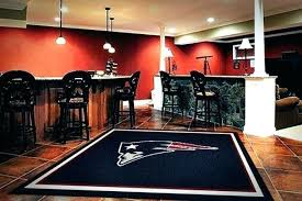 new england patriots carpet new patriots rug photo 1 of 9 man cave rugs design 1