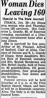 Obituary for Catherine Elnora Grandy (Aged 85) - Newspapers.com