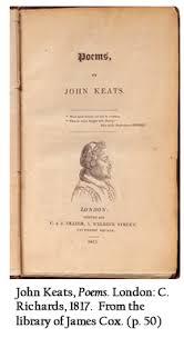 library company of philadelphia new yorker ads john keats poems london c richards 1817 from the library
